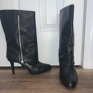 Tahari mid calf stiletto boots size 8.5